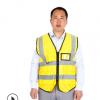 厂家直销反光背心马甲环卫工作服多口袋反光衣安全背心可印字定制