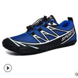 跨境新品户外五指沙滩鞋运动溯溪水陆两栖鞋涉水登山攀岩速干男鞋