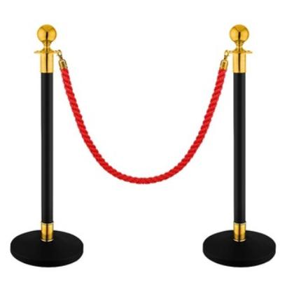 酒店挂绳一米线不锈钢礼宾柱护栏 银行/机场/大堂排队栏 厂家定制
