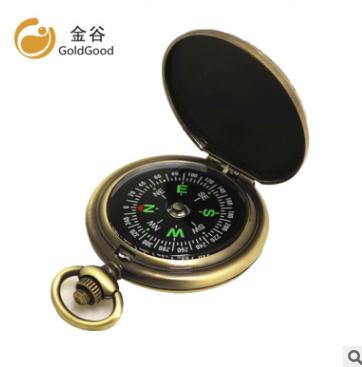 新品上架 J35A复古怀表指南针 指北针礼品赠品促销 亚马逊ebay热