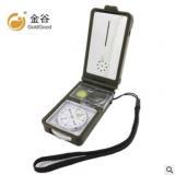 厂家生产 金谷十合一T10指南针指北针 多功能 带灯打火石 户外用