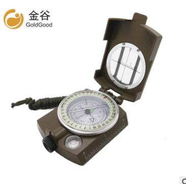 供ebay亚马逊 DC60-2A户外用多功能指南针指北针 金属带夜光 爆款