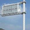 诱导显示屏立杆,停车位显示屏立杆,框架式安装有维修平台