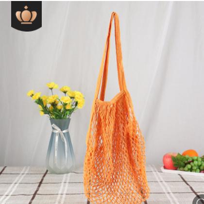 核桃网袋厂家供应染色全棉网袋水果网袋购物网兜棉手提网袋购物袋