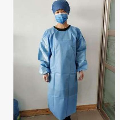 飘安 厂家直销 加强型 一次性使用手术衣 SMS手术衣 45g超声热合