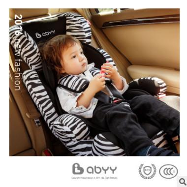 ABYY艾贝儿童安全座椅婴儿宝宝车载坐椅汽车用9个月-12岁 3C认证