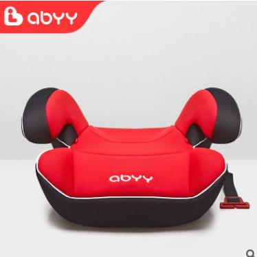 艾贝汽车儿童安全座椅增高垫6-12岁车载便携式宝宝安全坐垫通用