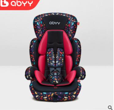 ABYY艾贝儿童安全座椅汽车用9个月-12岁 3C认证