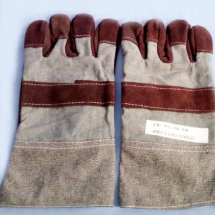 厂家翻毛磨砂短皮手套个人手部防护手套 电焊用品手套批发直销