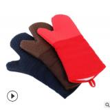 名柔硅胶微波炉手套 防烫隔热手套耐高温 厨房居家微波炉手套定制