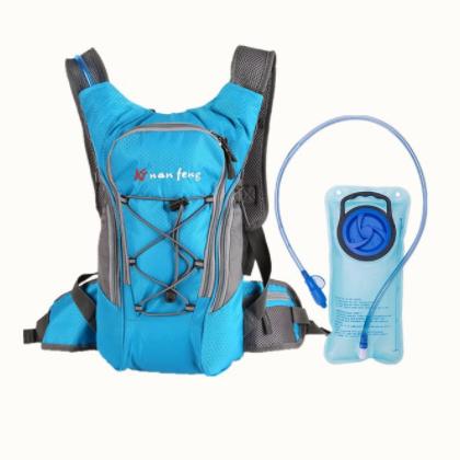 跨境新款户外登山运动包装备骑行跑步用品水袋背包徒步旅行双肩包