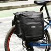 自行车双侧包耐磨防水性能自行车后架包反光山地车双驮包厂家批发