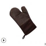 名柔硅胶手套耐高温 防滑硅胶隔热手套 厨房烘焙手套防烫厂家直销