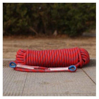 登山绳 高强涤纶编织绳 户外登山攀岩 坠落防护登山绳