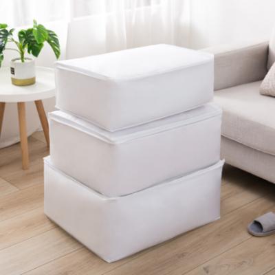 厂家供应搬家收纳防潮袋 PEVA立体棉被收納袋防水防尘袋