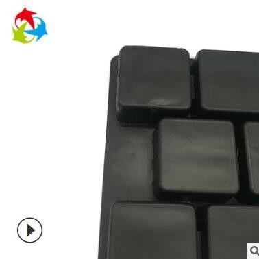 厂家定做通用防震食品吸塑托盘 黑色饼干巧克力吸塑内托