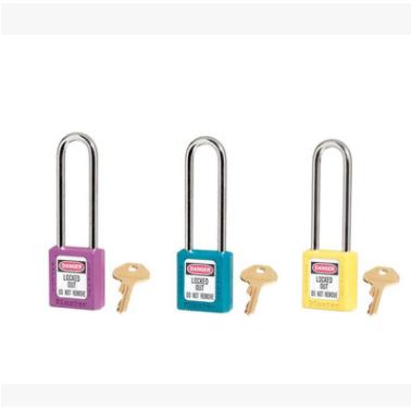 Masterlock 玛斯特 410MCNGRN 热塑安全挂锁 LOTO上锁挂牌