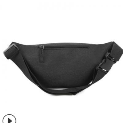 新款男士腰包 防水商务休闲胸包 户外旅行单肩斜挎包运动腰包定制