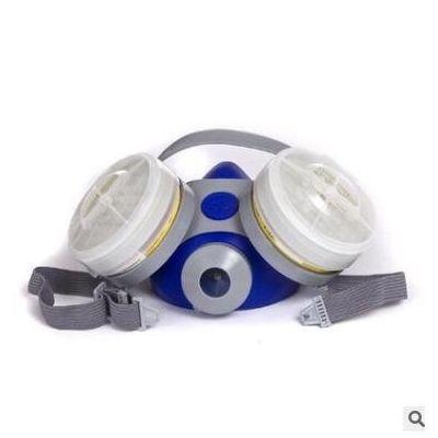 霍尼韦尔B290双滤盒G110硅胶防毒防尘面罩粉尘喷漆电焊化工气体用