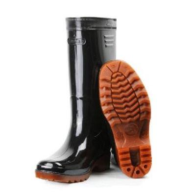 天津灯塔水鞋高筒耐酸碱水产厨房防滑防水雨鞋耕田水稻雨靴劳保鞋
