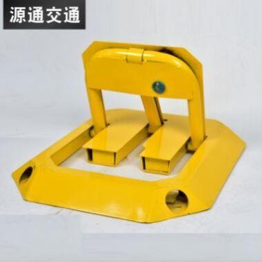 八角车位锁 车库防压方形锁 专用停车位地锁 停车场设备地锁