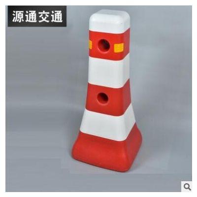 塑料隔离墩 注水塑料三孔水马围挡 市政施工隔离墩防撞