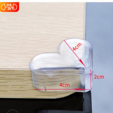 12个装儿童桌角保护套软弹透明防撞角婴幼儿安全防撞护角包角