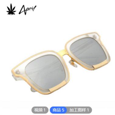欧美时尚全框偏光墨镜 厂家OEM定制logo贴牌男女通用尼龙片太阳镜