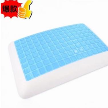 广东厂家直销 凝胶面包枕 硅胶枕 夏天冰凉枕记忆枕 保护劲椎