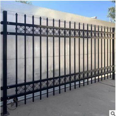 锌钢护栏围墙围栏栅栏公园室外庭院小区别墅工厂铁艺防护栏杆隔离
