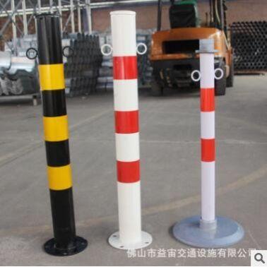 不锈钢钢管警示柱道路交通安全隔离反光防撞柱路障车位挡车器栏杆