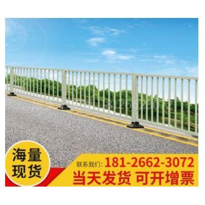 城市道路锌钢市政护栏隔离栏马路围栏锌钢交通栏杆防撞安全防护栏
